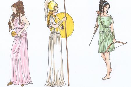 Bennünk élő istennők Artemisz Önismereti Műhely Debrecen